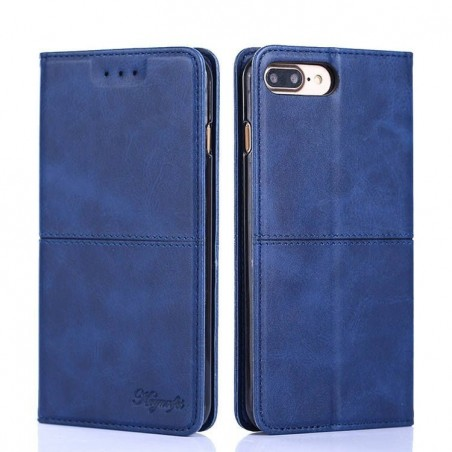 Huawei Mate 20pro-Etui portefeuille Bleu