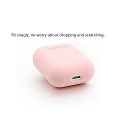 Airpods - Coque de protection silicone Rose