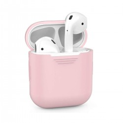 Airpods - Coque de protection silicone Rose