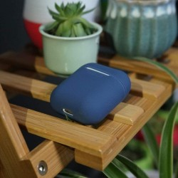 Airpods - Coque de protection silicone Blau
