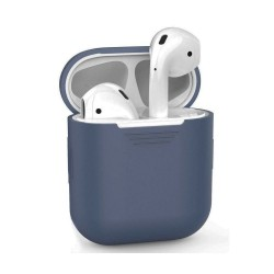 Airpods - Coque de protection silicone Bleu