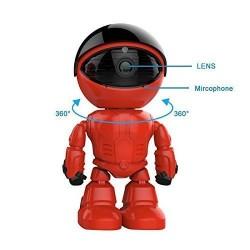 ed Robot Caméra ip Sans Fil, Wifi Caméra de Surveillance 960P