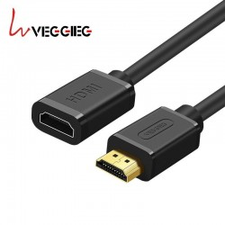 Rallonge HDMI Câble Extension Mâle vers Femelle Câble HDMI 4K