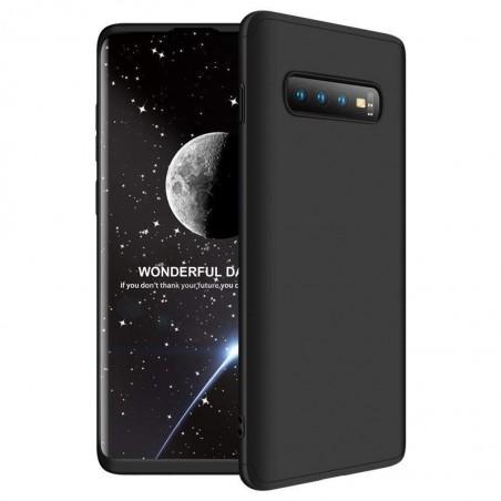 Galaxy S10 Coque Noir couverture complète et film de protection offert