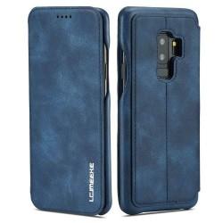 Galaxy S10 Plus-étui support rétro avec pochette