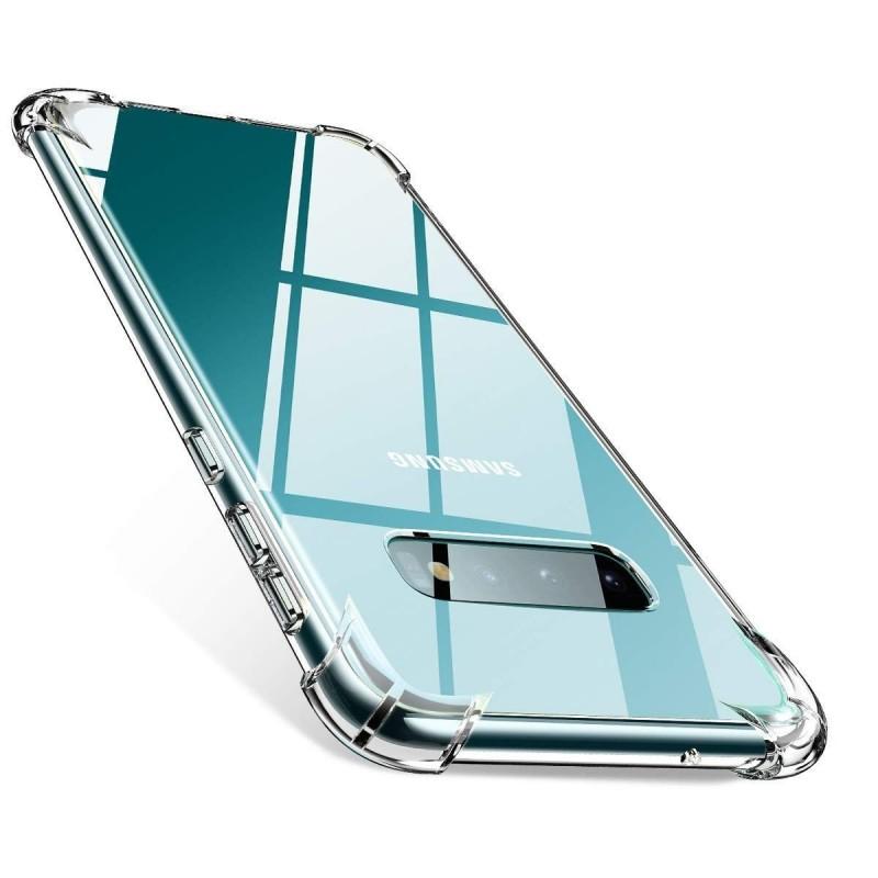 Galaxy S10 plus - Coque solide la plus Transparente solide