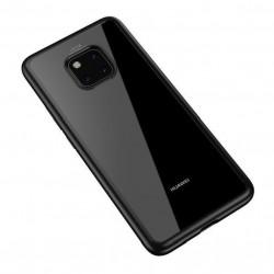 Coque Huawei mate 20 pro Transparente très résistant NOIR