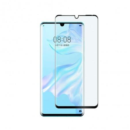 Huawei P30 Pro Protecteur D'écran [3D Curved] Verre Trempé écran Protecteur pour Huawei P30 Pro (Noir)