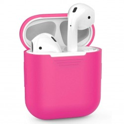 Airpods - Coque de protection silicone pink