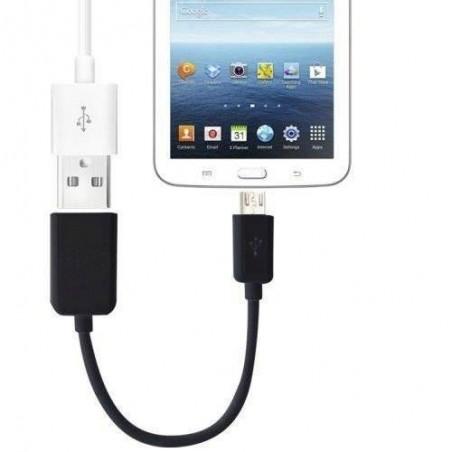 Micro USB mâle vers USB femelle OTG câble de données pour Android Phone