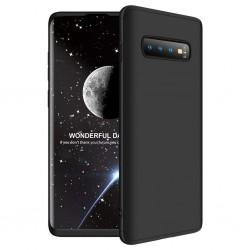 Galaxy S10 plus Coque Noir couverture complète et film de protection offert
