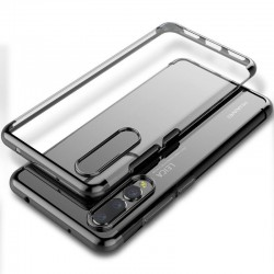 Coque Huawei Psmart Transparente très résistant NOIR