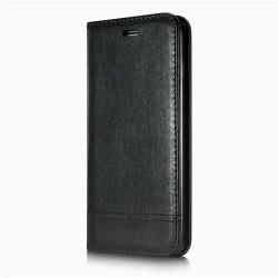 iPhone 7 - Etui portefeuille support simili cuir souple fermeture magnétique -Noir