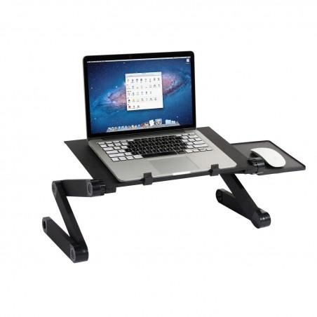 Support pour Ordinateur Portable réglable pour lit et canapé,