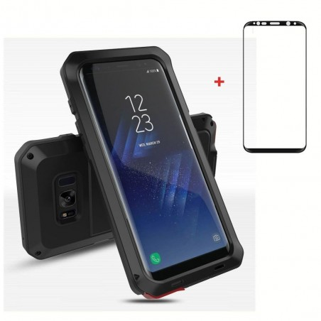 Coque Galaxy S8 Rugged Armor Antichoc Antipoussière Full Body