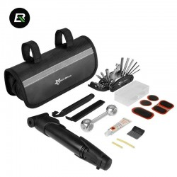 kit reparation velo Outils de réparation pneu de vélo Multifonctions