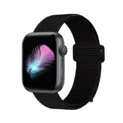 Apple watch 44/42mm - Bracelet tissé Nylon doux