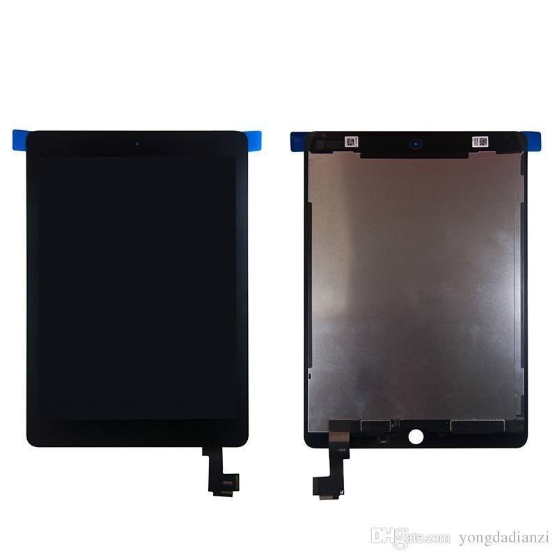 iPad Air 2 A1566 A1567 Ecran LCD + Vitre Tactile - Blanc. Réparez votre appareil et remplacez votre écran cassé, fissuré, abimé