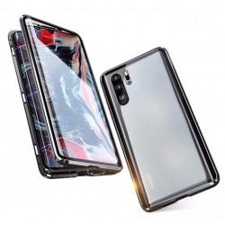 Coque Huawei P30 Pro Transparente Adsorption Magnétique étui Antichoc