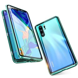 Coque Huawei P30 Transparente Adsorption Magnétique étui Antichoc