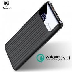 Baseus-Charge-Rapide-3-0-Puissance-Banque-10000-mAh-Double-USB-LCD-Powerbank-Batterie-Externe