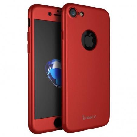 iPhone 7/7plus - Rot case toute couverte+verre trempé iPaky®