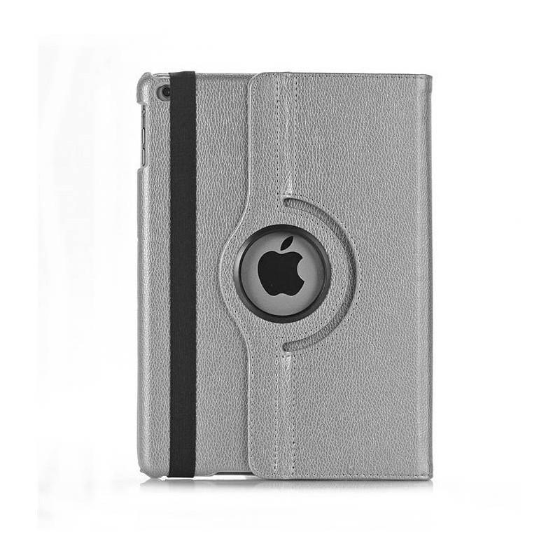 iPad mini 4 - étui support rotatif similicuir Noir