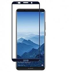 Huawei Mate 10 Pro - Protection écran verre trempé Bleu foncé fullcover