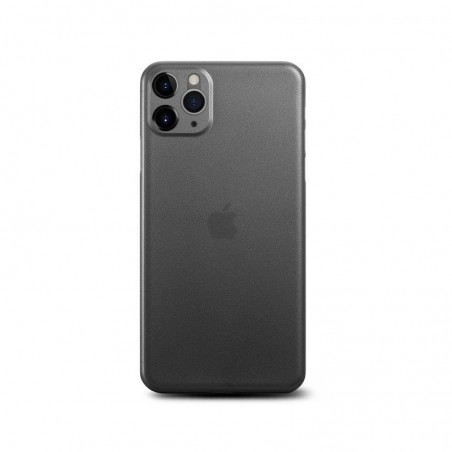 iPhone 11 Pro - Coque rigide mate transluicide noir