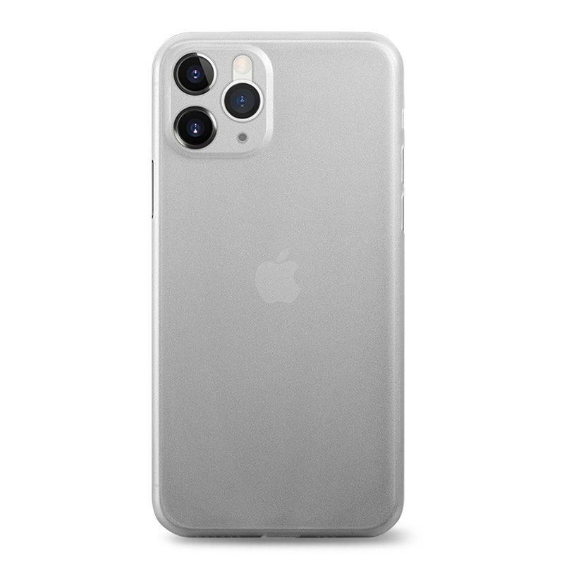 iPhone 11 Pro Max - Coque rigide mate transluicide noir
