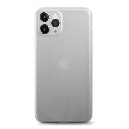 iPhone 11 Pro Max - Coque rigide mate translucide BLANC