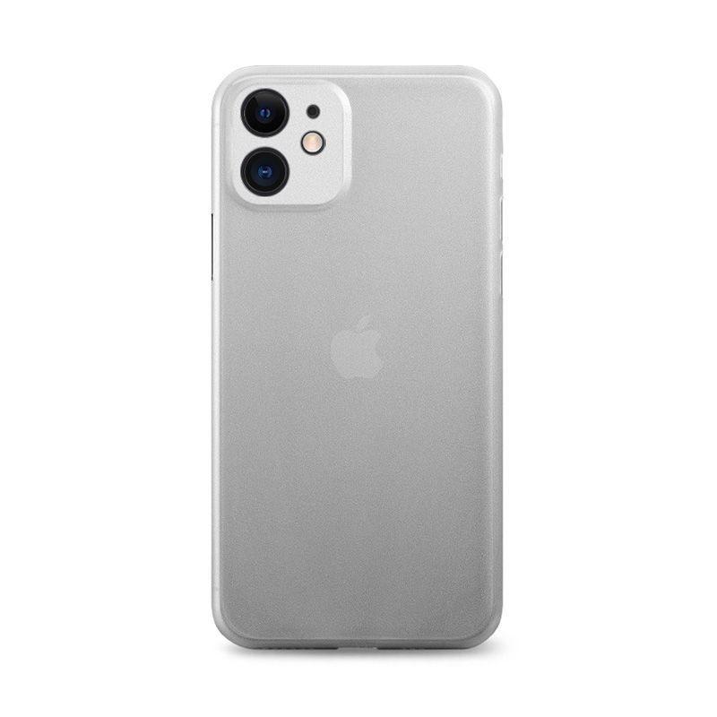 iPhone 11 - Coque rigide mate transluicide noir