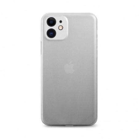 iPhone 11 - Coque rigide mate transluicide BLANC