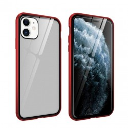 iphone 11 - coque metallique double face avec verre trempé