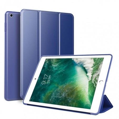 iPad pro 11 - étui support smartcase souple Bleu foncé