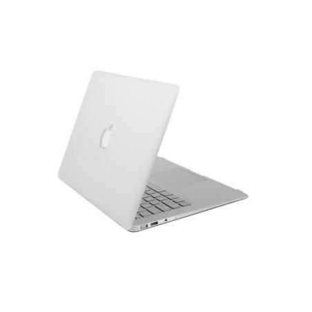 "MacBook retina 15"" - Coques mate blanche devant et derrière"
