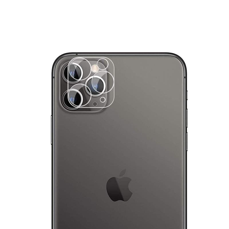 Lentille protection de camera arrière en verre trempé transparente pour iphone 11 pro max / 11 pro