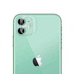 iPhone 11 - Lentille protection de camera arrière en verre trempé transparente