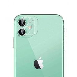 Lentille protection de camera arrière en verre trempé transparente pour iphone 11