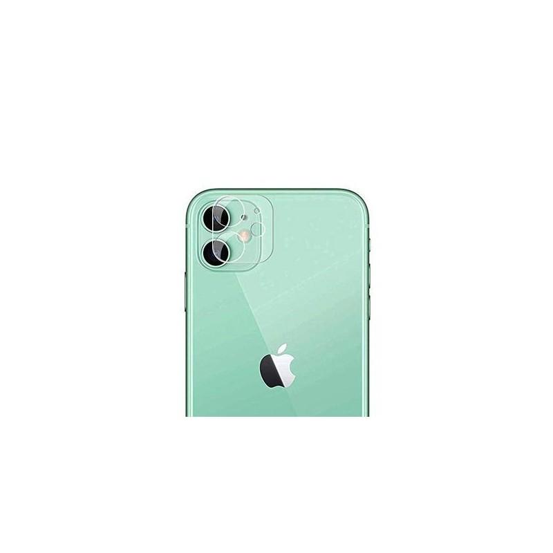 iPhone 11 - Lentille protection de camera arrière en verre trempé transparente