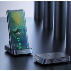 Dock Type-C Station d'accueil de moyeu de USB type C Baseus pour Samsung S10 S9 Dex Station de protection USB-C