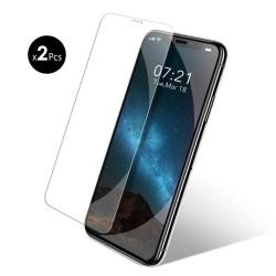 2x Verres Trempé pour iPhone 11/XR Protecteur d'écran