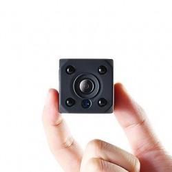 Mini Caméra Wifi Caméras avec Batterie Intégrée Sans Fil HD 1080p avec Détection de Mouvement Vision Nocturne Sécurité