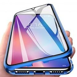 Coque Huawei P30 pro Transparente Adsorption Magnétique étui Antichoc-BLEU