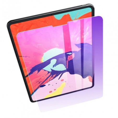 iPad pro12.9 2018 - Protection écran Verre Trempé Anti Blue-ray
