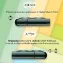 2 x Caméra Arrière Protecteur JOYROOM pour iPhone 11 Pro/iPhone 11 Pro Max