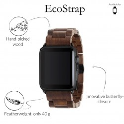 Woodcessories EcoDock noyer pour Apple Watch