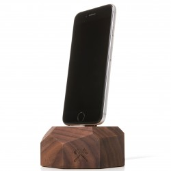 Woodcessories EcoDock noyer pour iphone
