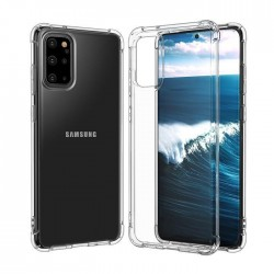 Galaxy s20 plus - Coque solide la plus Transparente solide
