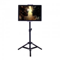 Porte-ipad de sol 1.85cm sur pied support tablette smartphone 4-10.6 pouces
